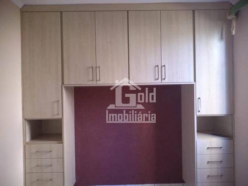 Apartamento Com 2 Dormitórios Para Alugar, 45 M² Por R$ 880/mês - Geraldo Correia De Carvalho - Ribeirão Preto/sp - Ap4428
