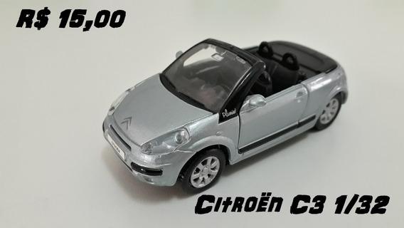 Miniatura Citroen C3 - Escala 1/32 - Metal