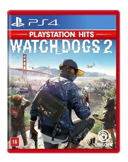 Jogo Watchdogs 2 Ps4 Disco Fisico Game Novo Lacrado Nacional Rj