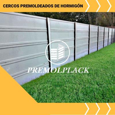 Muro Cerco Premolplack Tapial Premoldeada Ahorre Dinero !!