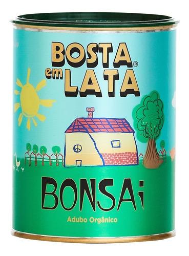 Fertilizante Orgânico Bosta Em Lata Bonsai - 500 G