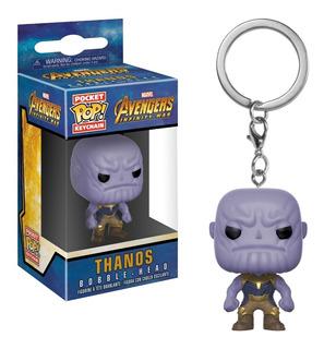 Llavero Thanos Funko Pop Original Avengers Infinity War
