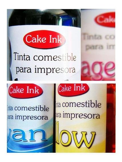 Kit Tinta Comestível Epson Bulk Ink Impressora 550 Ml