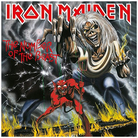 Iron Maiden The Number Of The Beast 180g Lacrado Prontaentre