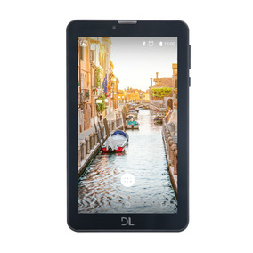 Tablet Dl Mobi Tab 3g Tela 7 8gb Dual Chip Android 7 Preto