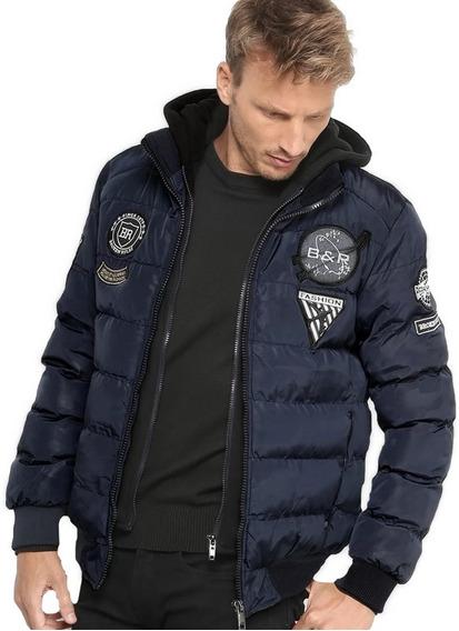 Jaqueta Casaco Blusa Slim Fit Masculina Frio Inverno
