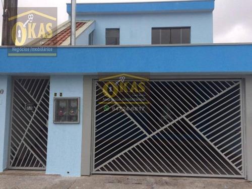 Imagem 1 de 20 de Sobrado Com 4 Dormitórios À Venda, 189 M² Por R$ 456.000,00 - Jardim Marica - Mogi Das Cruzes/sp - So0204