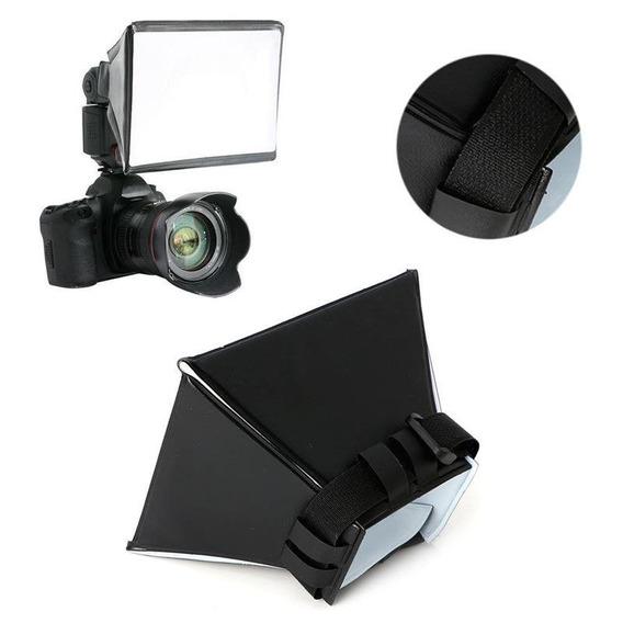 Difusor Mini Softbox Hazzy Universal P/ Flash Canon Nikon