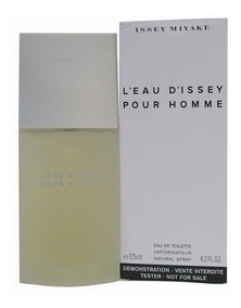 Perfume Issey Miyake L´eau D´issey Pour Homme 125ml Tester