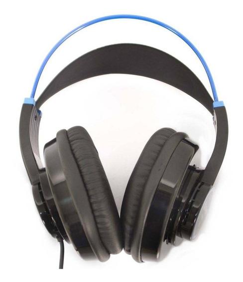 Fone De Ouvido Lexsen Dinâmico Lh280bl Preto/azul - Ac1731