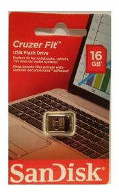 Pen Drive 16gb Sandisk Ultra Mini Micro Cruzer Fit Nano Novo