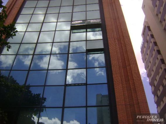 Excelente Conjunto Comercial Mobiliado Em Edifício Moderno Em Perdizes Com Vaga De Garagem - Pi17442