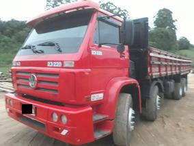 Volks 23-220 Bi Truck Carroceria, Único Dono