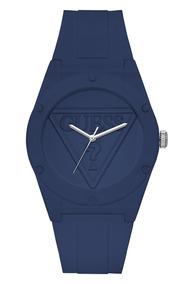 Relógio Guess Retro Pop Silicone Azul W0979l4 U0979l4