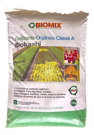 Adubo Fertilizante Orgânico Biomix 1kg Biokashi Bokashi