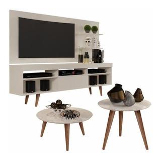 Muebles Para Tv 40 55 Pulgadas Sala Living Mesa