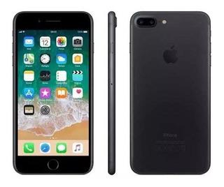 iPhone 7 Plus Preto Matte 32gb Impecavel