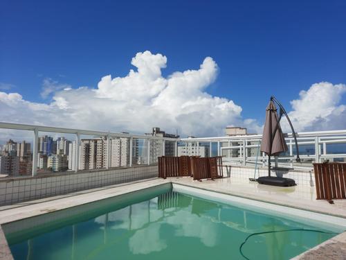 Imagem 1 de 19 de Ams173 Apartamento 2 Dorms 100m Praia Parcelas De R$ 1.430