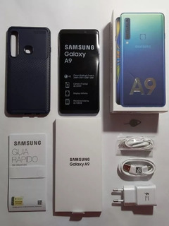 Samsung Galaxy A9 2018 Azul, Tela 6.3, 6 Gb - Nf E Garantia