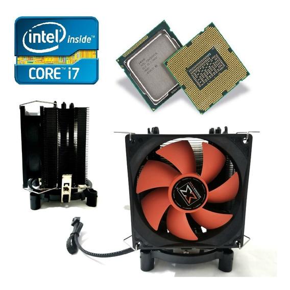 Processador Intel I7 2600 3.4 Ghz + Cooler Gamer Heatpipe + Nfe