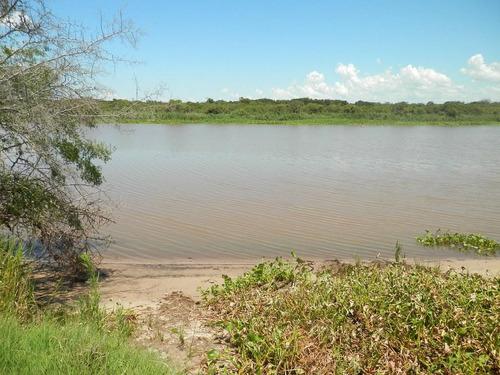 Estancia Isla Vizcaino 1569ha Ganadero Agricola Rio Negro Y Rio Uruguay