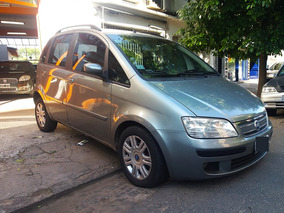 Fiat Idea 1.8 Hlx High Tech Gris 2006 Excelente Unica