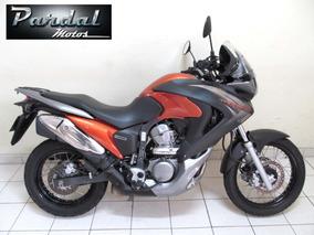 Honda Xl 700v Transalp Abs 2013 Laranja