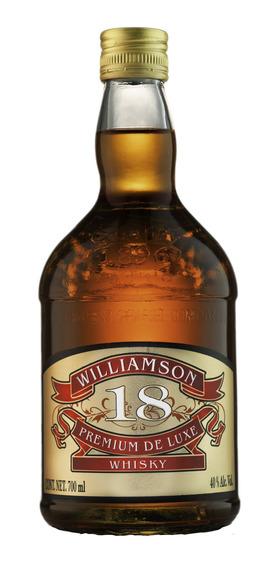 Whisky Williamson 18 De 700 Ml