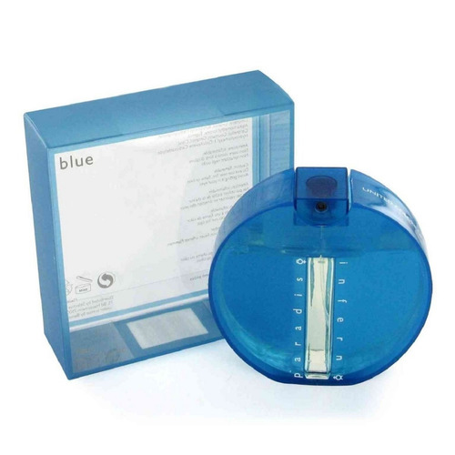 Perfume Paradiso Inferno Blue De Benett - mL a $899