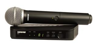 Microfono Inalambrico De Mano Shure Blx Pg58 Profesional