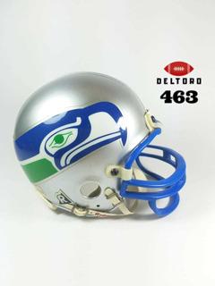 Mini Casco Helmet Ridell Seattle Seahawks Retro. Sin Caja.