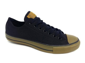 Tênis Unissex Ct08040001 All Star Converse - Preto/preto/mar