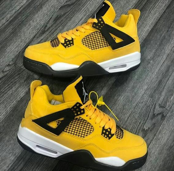 Zapatos Jordan Payaso Mujer Zapatos Deportivos Amarillo en