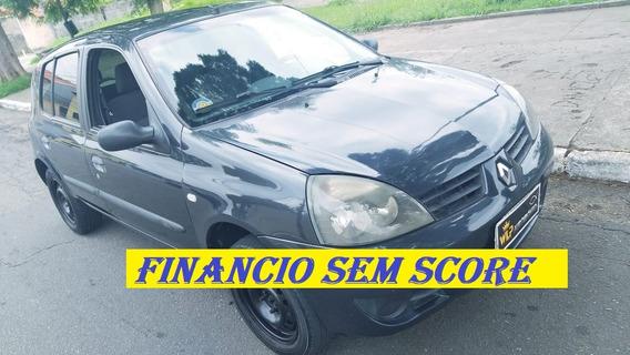 Renault Clio 2007 Completo-ar Financiamento Com Score Baixo