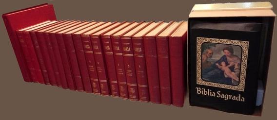 Enciclopédia Barsa Completa 1971 Com Livro Do Ano E Bíblia