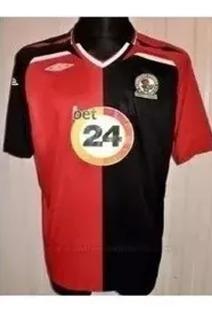 Camisa Futebol Blackburn Rovers Inglaterra 2007 Original