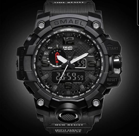 Relógio Masculino - Militar Digital - Smael 1545 - Original