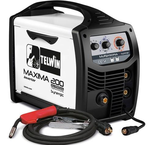 Soldadora Mig Tig Electrodo Telwin Inverter 170 Amp G P