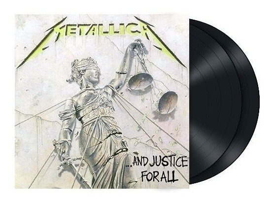 Vinilo Metallica And Justice For All Remastered 2 Lp