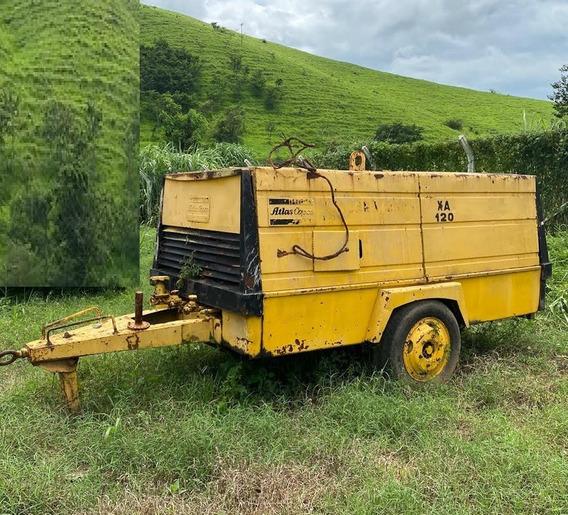 Compressor De Ar Atlas Copco Xas120 Ano 1979
