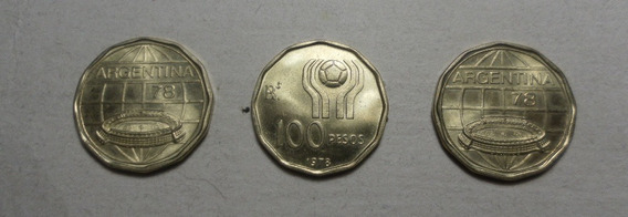 Lote De 5 Monedas De 50 Centavos 1941 De Argentina