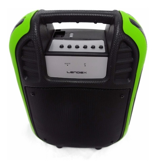 Caixa Som Portatil Bluetooth/usb/sd/fm/tv/pc Lendex