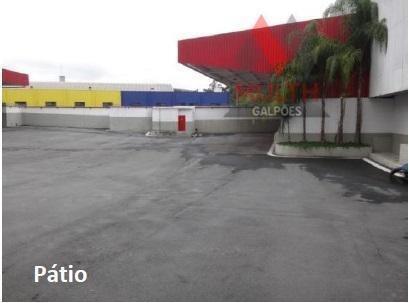Galpão Comercial Para Locação, Vila Engenho Novo, Barueri. - Ga0278