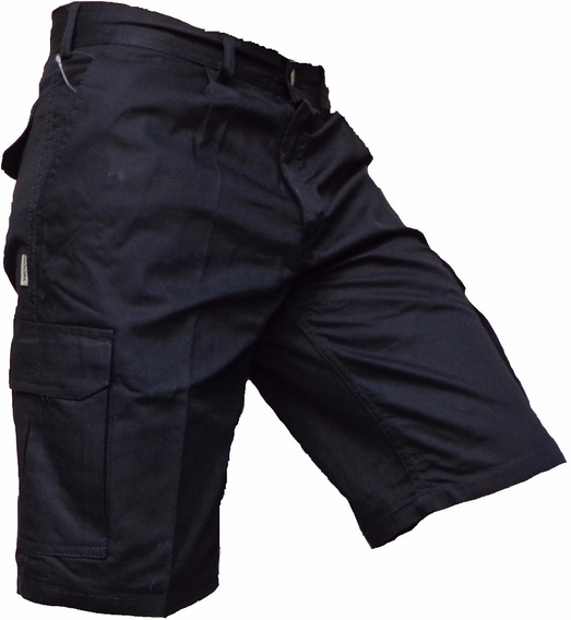 Bermuda Cargo Explora Bolsillo Trabajo Pantalon Corto Hombre