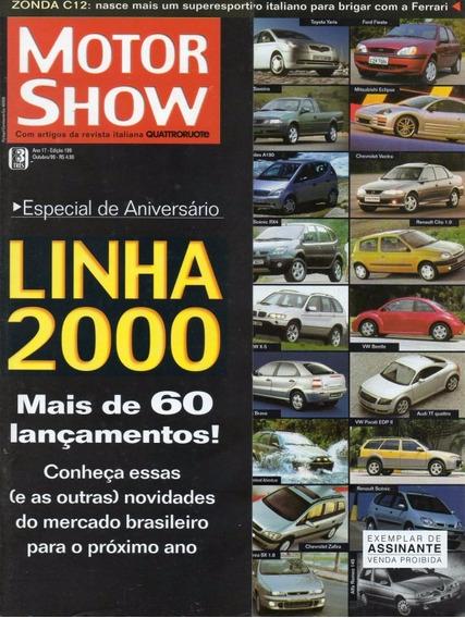 Motor Show Nº199 Pagani Zonda C12 Vectra Gls 16v Gmc Sonoma