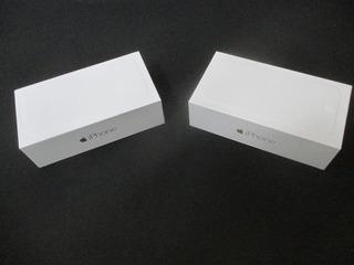 Caixa Vazia De iPhone 6 Space Gray E Gold 16gb - Original