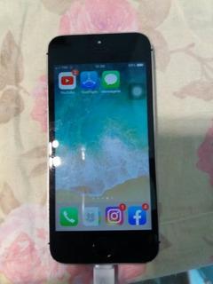 Celular iPhone 5s 16 Gigas De Memória Cor Prata