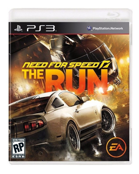Need For Speed The Run Ps3 - M. Física | Garantia Playgorila