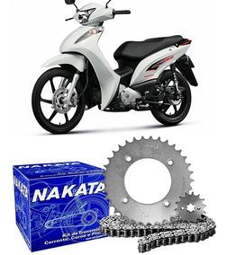 Kit Relação Transmissão Honda Biz 125 2005 2006 2007 Nakata