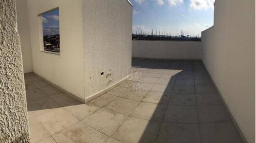 Cobertura À Venda, 100 M² Por R$ 320.000,00 - Jardim Do Estádio - Santo André/sp - Co4596